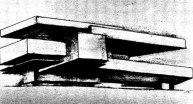 Л. Хидекель. Объемная композиция - %22сооружение%22. 1926
