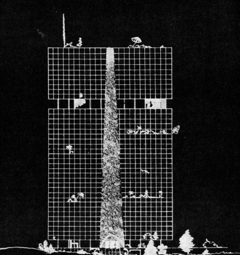 Дом промышленности. Конкурсный проект Архитектор- И. Леонидов Москва Годы создания проекта- 1929 - 1930