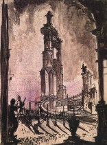 Chernikhov's dark turn after Stalinism