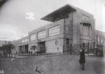 factory kitchen in the Vyborg district of Leningrad, full view 1928-1935