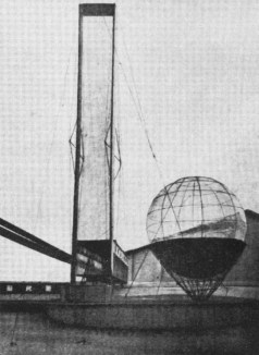 Ivan Leonidov's Lenin Institute model (1927)