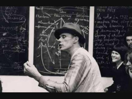 Joseph Beuys teaching