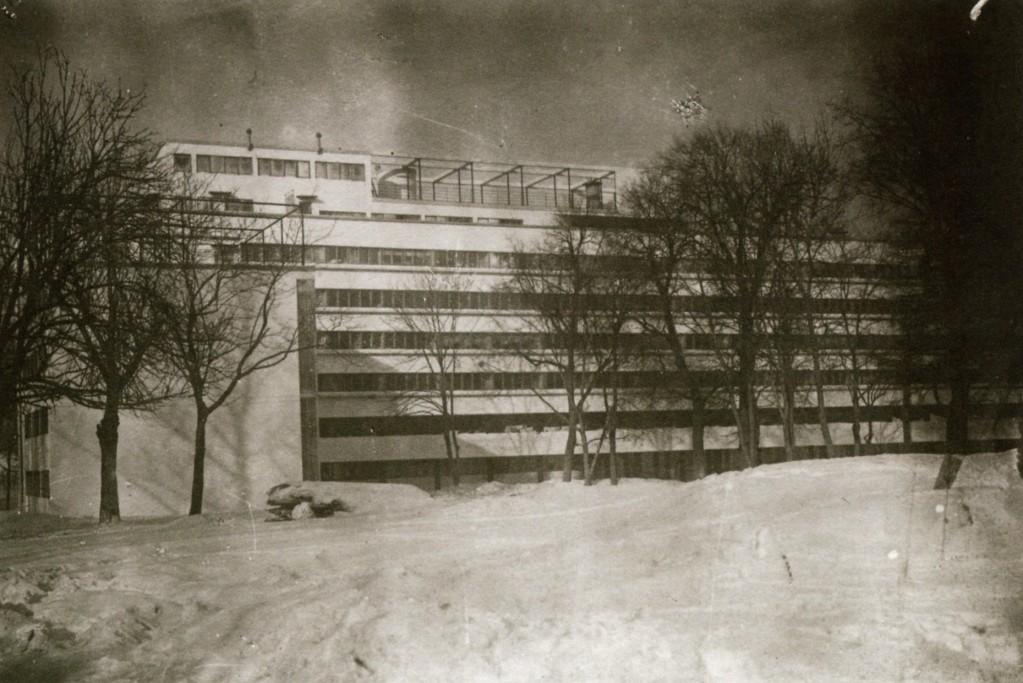 Narkomfin upon opening (1930)