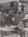 Commemorative photomontage of Trotsky's journeys, 1921