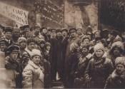 Lenin, Trotskii, Dzherzhinskii in February 1918