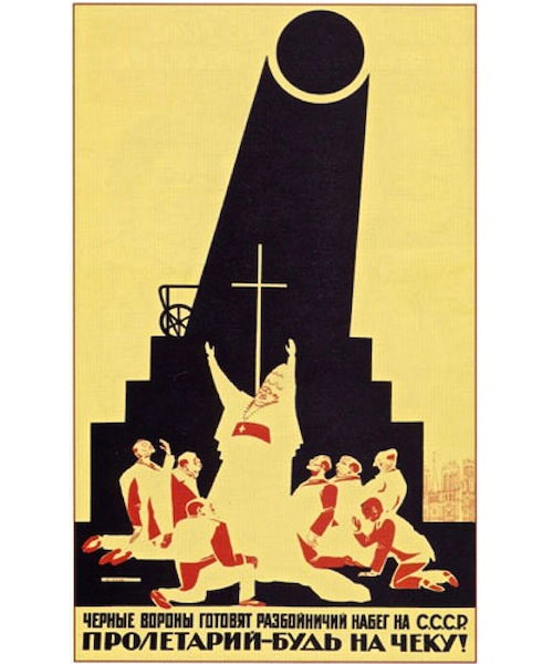 Early Soviet antireligious propaganda