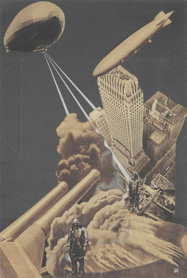 Aleksandr Rodchenko's terrifying vision of the War of the Future (1930)