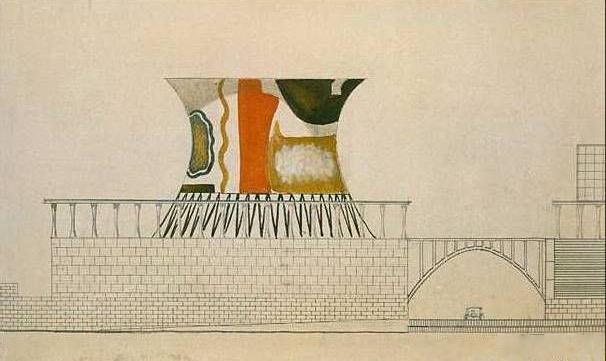 Leonidov's Narkomtiazhprom tower proposal (1932)