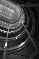 Interior to the Fiat Lingotto auto manufacturing plant