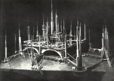 Building the constructivist set for Aelita (1924)