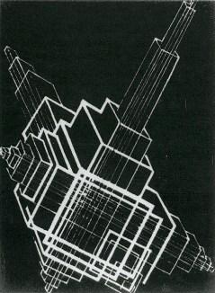 Gustav Klutsis, Drawn Abstraction (1922)