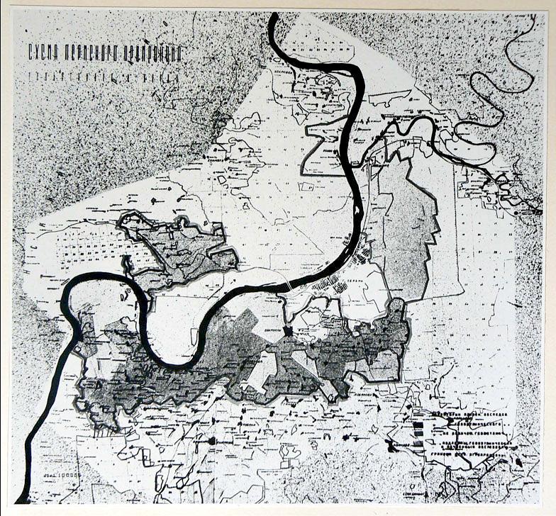 Hannes Meyer's regional plan for Perm, USSR (1934)