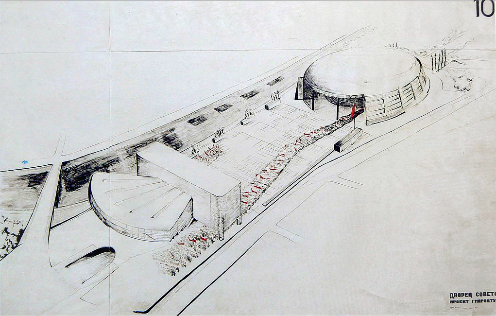Hannes Meyer's submission to the Palace of the Soviets competition
