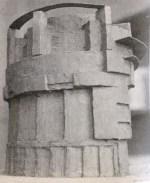 Spatial exercise, Nikolai Ladovskii's studio (1927)