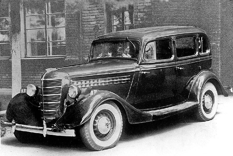 Волга ГАЗ - Предвоенные авто