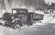 ГАЗ-33 на испытания в Строгинском лесу