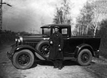 ГАЗ-4 - первый советский пикап