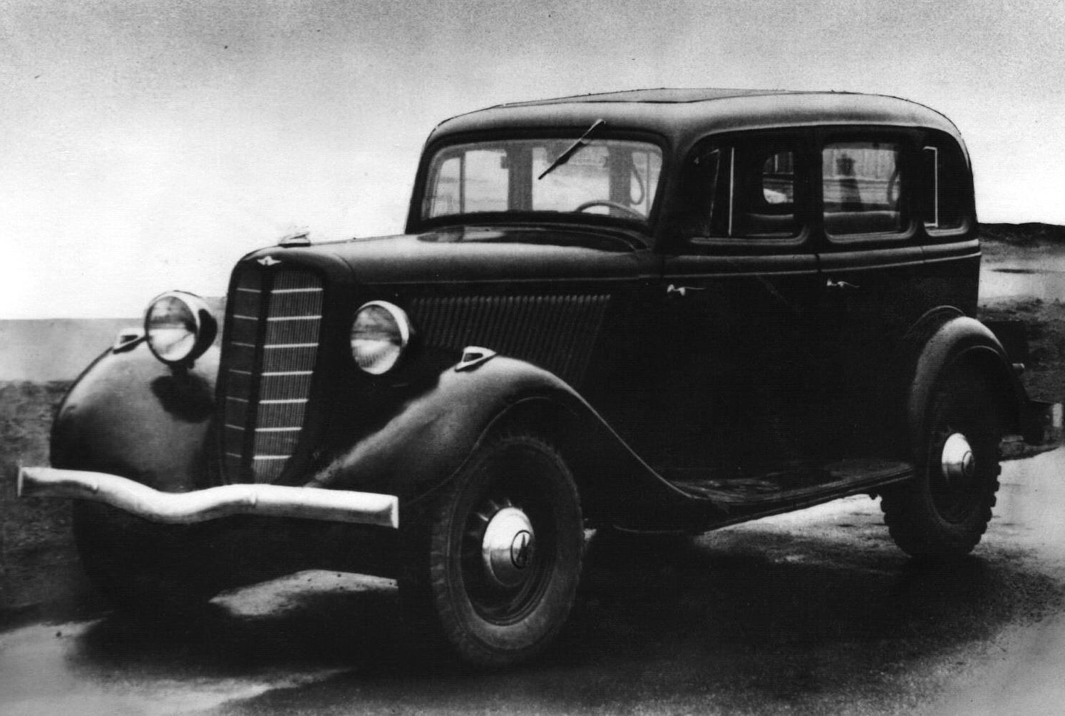 ГАЗ-М1 (1936-1943) Легковой автомобиль довоенного периода