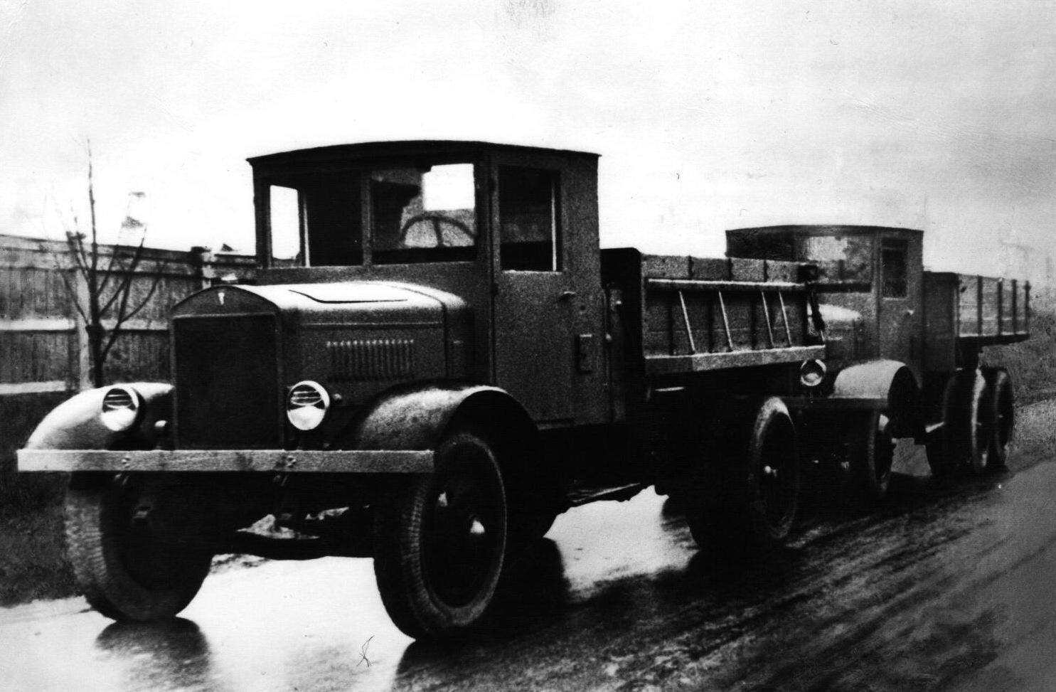 ЯС-1 (1935-1936) Первый советский самосвал серийного производства