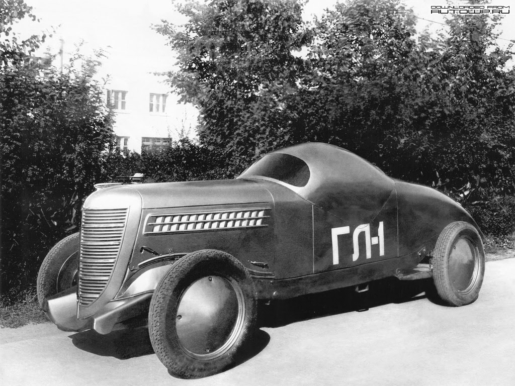 gaz gl-1 sports car 1940