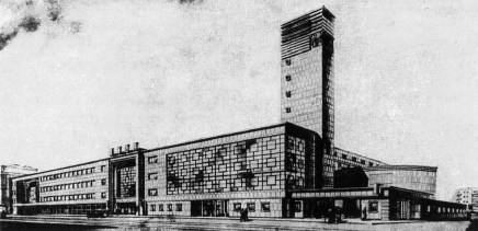 Nikolai Trotskii, design for House of Culture (1934)