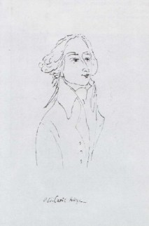 "Mikhail Sokolov, ""Emmanuel Joseph Sieyès [Сийес],"" from Figures of the 1789 French Revolution (1930-1934)"
