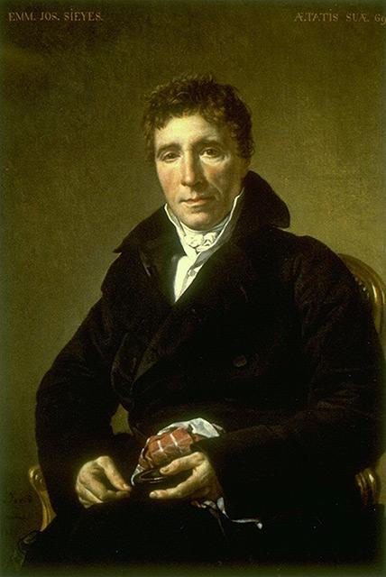 Historical depiction of Emmanuel Joseph Sieyès