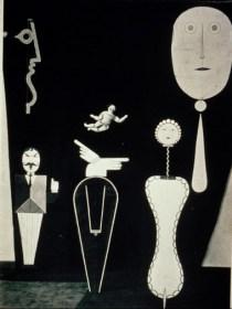 Oskar Schlemmer, The Figural Cabinet (1923).