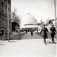 Planetarium by Baršč and Siniavsky, Moscow, c. 1931, photo: Ernst May