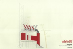 Contemporary reconstruction of some of Mel'nikov's design specifications for the Soviet Pavilion of 1925