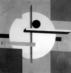 El Lissitzky, PROUN 3 (1921)