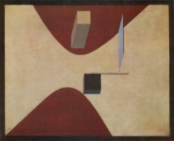 1919 painting Proun P23, no. 6 by El Lissitzky