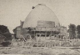 Moscow Planetarium, 1928; Mikhail Barshch, M. Siniavskii, and G. Sundblat, architects.