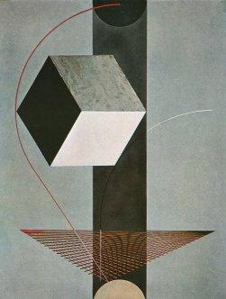 El Lissitzky, PROUN 99 (1924)