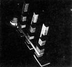 G. Kochar, Diploma project on the theme of the House of Unions, studio of Nikolai Dokuchaev (1929), model