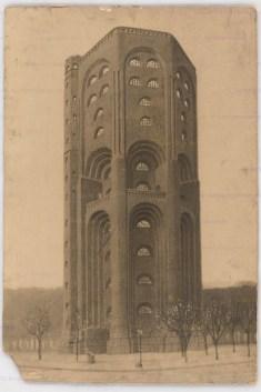 Hans Poelzig (1869-1936) Wasserturm Am Waisenhaus, Hamburg (1906-1907) Ansicht Foto Foto auf Karton 60,00 x 40,00 cm Inv.-Nr. 2570