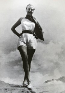 Charlotte Perriand in front of the Sea Ice, 1927