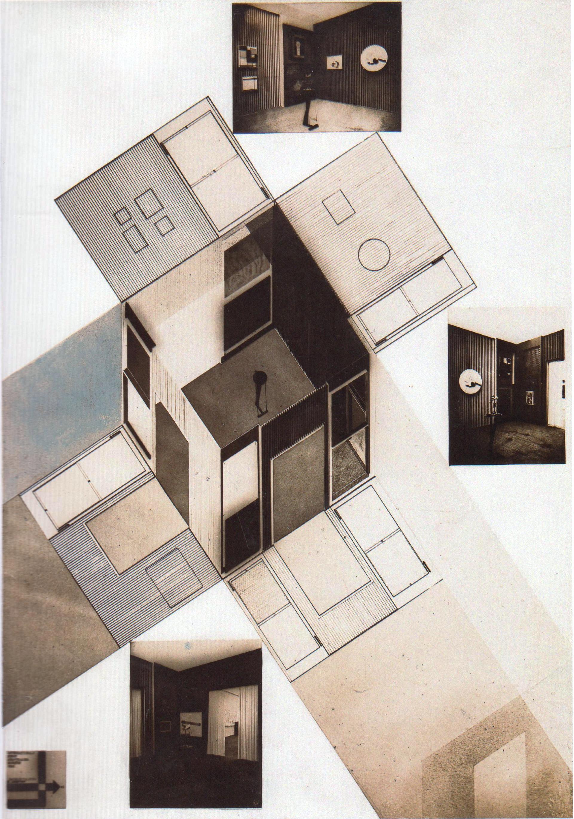 Проект зала конструктивного искусства на Международной художественной выставке в Дрездене. 1926