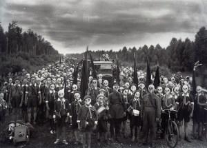 Pioneers in Defense Drill, Leningrad