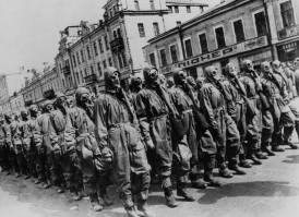 Red army chemical warfare drill 1920s