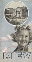 Travel brochure «Kiev» circa 1932. Published by Intourist.