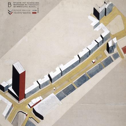 The city as a regulated industry: Cornelis van Eesteren and urban planning