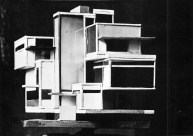 C. van Eesteren Th. van Doesburg, 1923 Model Maison d'artiste