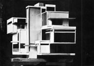 C. van Eesteren Th. van Doesburg, 1923 Model Maison d'artiste