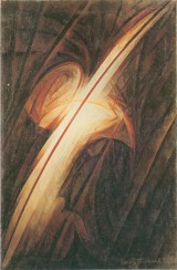 Ivan Kudriashev, Luminescence, 1926, oil on canvas, 106.6 x 71