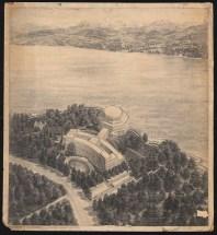 Poelzig Hans (1869-1936): Völkerbundpalast, Genf