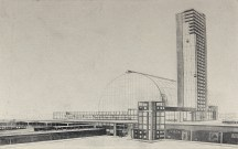 Diploma project, Central train station, Andrei Burov 1925a