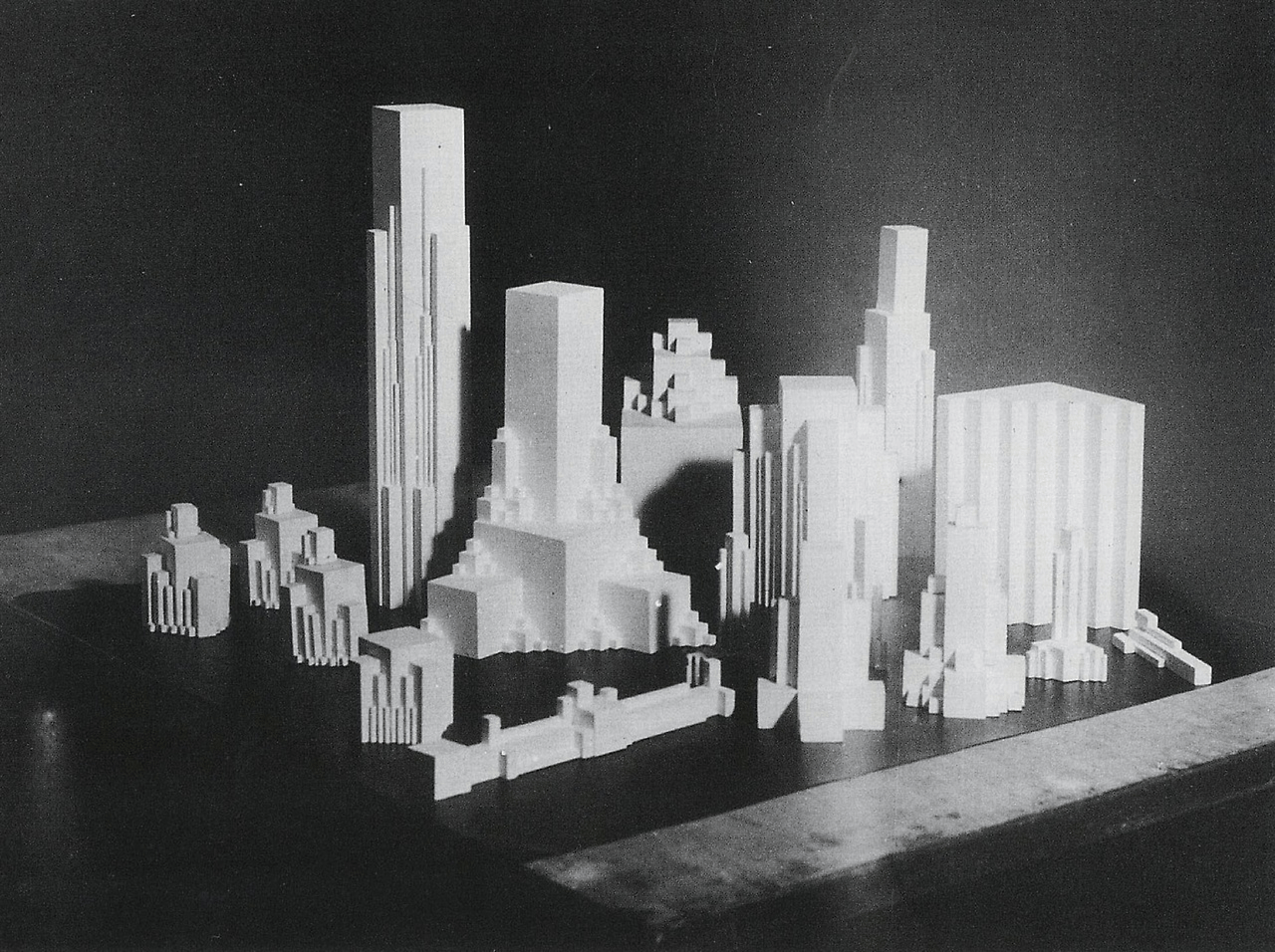 """Kazimir Malevich, Vertical Architectons, 1929-31. Maria Gough's keynote at the """"Living Time"""" symposium at UC Berkeley focused in part on the Architectons"""