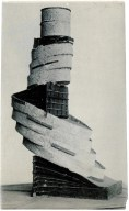 Revelation of a three-dimensional form with additional elements in space, model late 1920s
