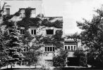 Vila Scheu, Vídeň, 1930, zahradní fasáda